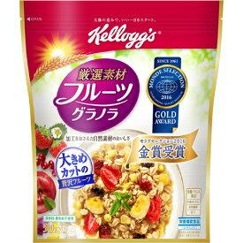 ケロッグ 厳選素材 フルーツグラノラ 徳用袋 500g 味の素(代引不可)