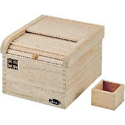おいしく保存 桐製米びつ 5kg用 パール金属