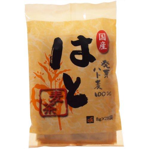 OSK はと麦茶 国産発芽 8g×28袋 小谷穀粉【S1】