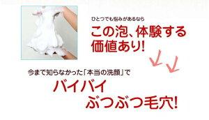 どろあわわどろ豆乳石鹸110g洗顔石鹸洗顔料洗顔フォーム洗顔泡石鹸ドロ泥豆乳(2個以上から代引き可)【クロネコDM便】【送料無料】