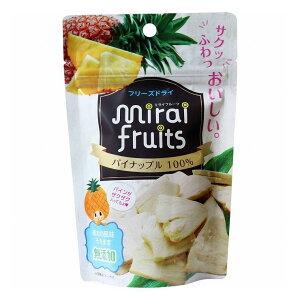 ミライフルーツ パイナップル 10g