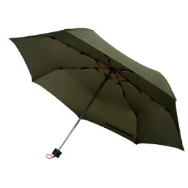 mabu 高強度折リたたみ傘 ストレングスミニ カーキ SMV-40354 丈夫 強風 収納ケース付き セミオートクローズ(代引不可)【送料無料】