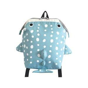リュックサック ジンベイザメ グリーン かわいい かばん リュック おしゃれ 魚 子供 プレゼント 水族館(代引不可)