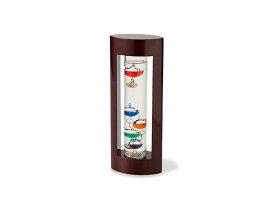 ガラスフロート温度計M 333-201 ブラウン