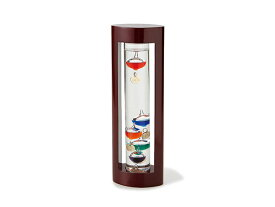 ガラスフロート温度計L 333-202 ブラウン