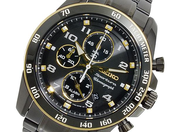 セイコー SEIKO Sportura クロノグラフ メンズ 腕時計 SNAF34P1【楽ギフ_包装】【送料無料】