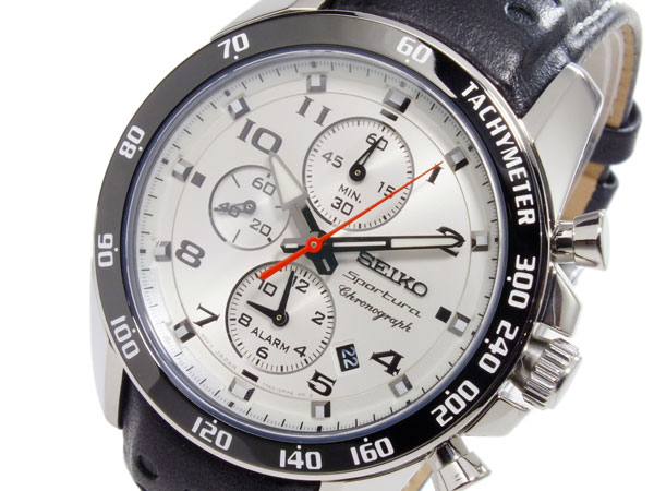 セイコー SEIKO スポーチュラ クオーツ メンズ 腕時計 SNAF35P1【楽ギフ_包装】