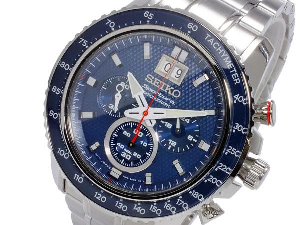 セイコー SEIKO スポーチュラ SPORTURA クオーツ メンズ クロノグラフ 腕時計 SPC135P1【楽ギフ_包装】【送料無料】