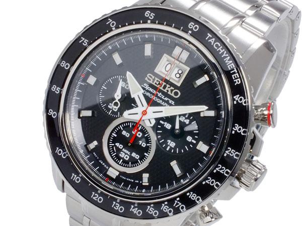 セイコー SEIKO スポーチュラ SPORTURA クオーツ メンズ クロノグラフ 腕時計 SPC137P1【楽ギフ_包装】【送料無料】