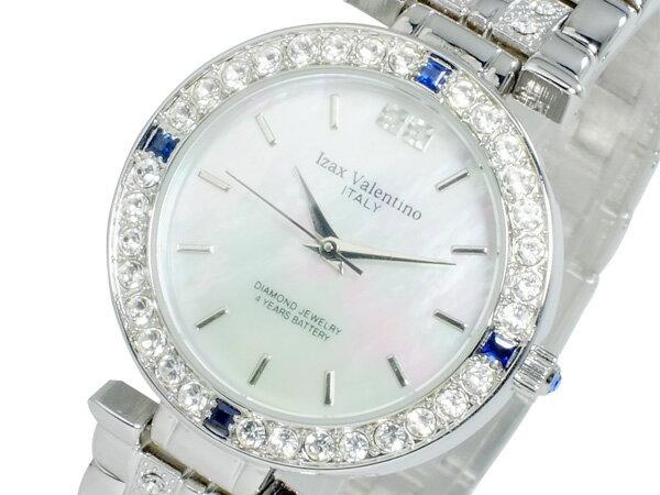 アイザック バレンチノ IZAX VALENTINO クオーツ メンズ 天然サファイア 腕時計 時計 IVG-9100-1【楽ギフ_包装】