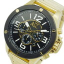 アルマーニ エクスチェンジ クオーツ メンズ クロノ 腕時計 時計 AX1511 ゴールド【楽ギフ_包装】