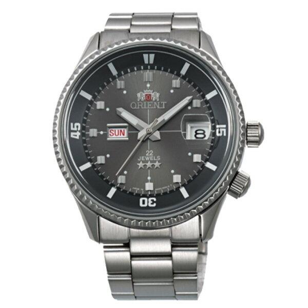 オリエント キングマスター 自動巻き メンズ 腕時計 時計 WV0011AA グレー 国内正規【楽ギフ_包装】