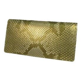 錦ヘビ ゴールド無双 長財布 さいふ サイフ メンズ 錦蛇革使用 日本製
