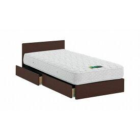 ASLEEP アスリープ ベッドフレーム キングサイズ チボー FYAH4BDC ダークブラウン 引出し付き アイシン精機 ベッド(代引不可)【送料無料】