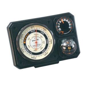【SPALDING】スポルディング 気圧表示付高度計 ブラック 日本製 NO1230 /20点入り(代引き不可)【送料無料】