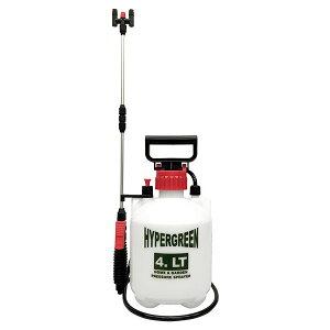 マルハチ産業 蓄圧式噴霧器 ハイパー 4L (2頭口) 延長パイプ付(代引不可)【送料無料】
