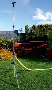 ガーデンミスト 伸縮ロングノズル 伸縮式 散水器具 お庭 ベランダ ガーデニング 打ち水(代引不可)【送料無料】