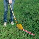 ムサシ 充電式 ポールバリカン 18V PL-5001 園芸用品 コードレス 両刃 高枝切り 草刈り機 ガーデントリマー(代引不可)…