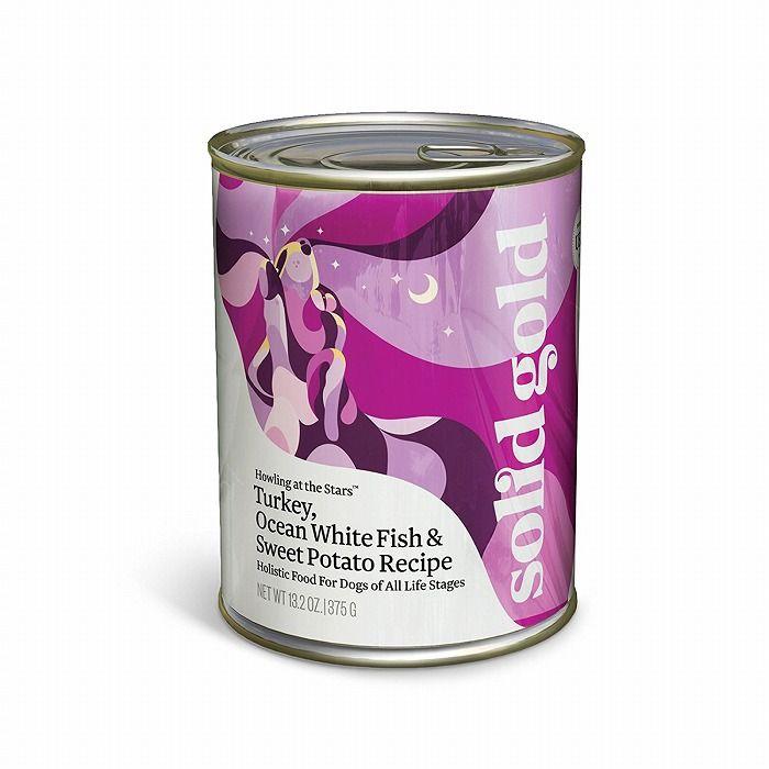ケイエムティ ソリッドゴールド 正規品 ターキー&フィッシュ缶 374g【S1】