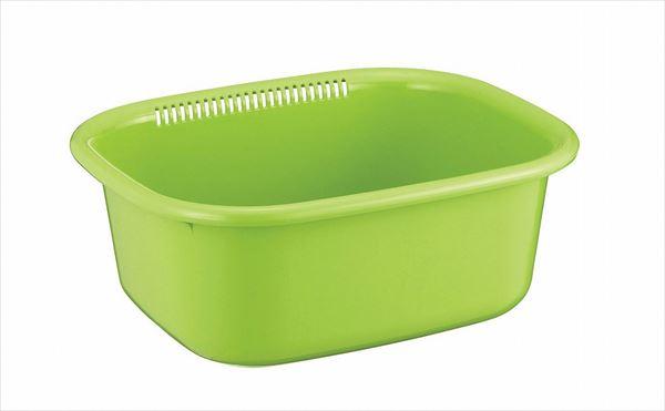 アスベル ポゼ 洗い桶(角型) G(グリーン)