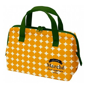 スケーター マルシェ がま口型ランチバッグ かぼちゃ KGA1 (弁当袋 保冷バッグ ) (代引不可)