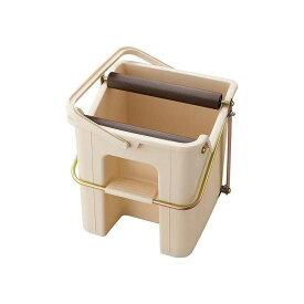 モップ絞り器 デイリークリーン タフスクイザー 手が濡れない ラクラクモップの水絞り(代引不可)【送料無料】