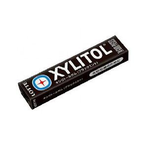 【まとめ買い】 ロッテ キシリトールガム ブラックミント 14粒 x20個セット 食品 業務用 大量 まとめ セット セット売り(代引不可)【送料無料】
