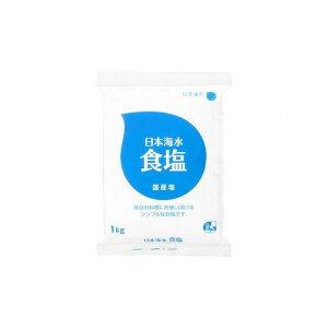 【まとめ買い】 日本海水 食塩 1Kg x6個セット 食品 業務用 大量 まとめ セット セット売り(代引不可)【送料無料】