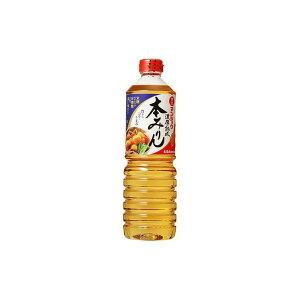 キッコーマン食品(株) 味醂 マンジョウ 濃厚熟成本みりんペット 1L(代引不可)