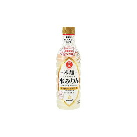 キッコーマン食品(株) 万上 米麹 こだわり仕込み本みりん 450ml x1(代引不可)