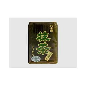 【まとめ買い】 杉本屋 厚切り羊かん 抹茶 150g x20個セット 食品 まとめ セット セット買い 業務用(代引不可)【送料無料】