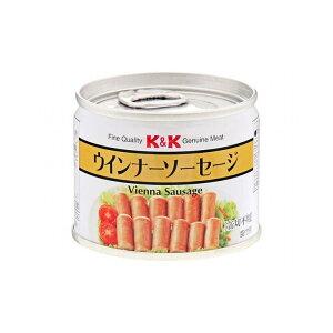 【まとめ買い】 K&K ウインナーソーセージ EO 8号缶 x6個セット 食品 まとめ セット セット買い 業務用(代引不可)【送料無料】