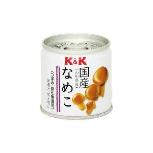 【まとめ買い】 K&K 国産 なめこ水煮 EO SS2号缶 x6個セット 食品 まとめ セット セット買い 業務用(代引不可)【送料無料】