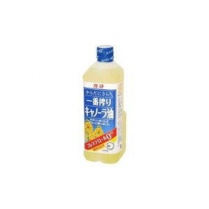【まとめ買い】 理研 一番搾りキャノーラ油 ペット 1Kg x12個セット まとめ セット まとめ販売 セット販売 業務用(代引不可)【送料無料】