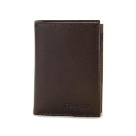 renoma レノマ 二つ折り財布 9006 002 メンズ 牛革 レザー カードウォレット ブラウン【送料無料】