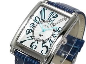 ミシェルジョルダン SPORT 腕時計 時計 天然ダイヤ SG-3000-5【楽ギフ_包装】