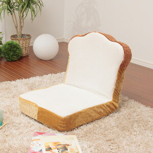 日本製 座椅子 カバーリング座椅子 カバーセット パン座椅子 コンパクト 2人掛けソファ ソファ イス 食パン型 かわいい おしゃれ 姫系 メロンパン 食パン トースト(代引不可)【送料無料】