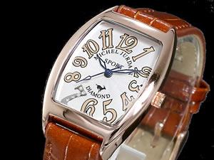 ミシェルジョルダン SPORT 腕時計 時計 天然ダイヤ SL-1100-3【楽ギフ_包装】