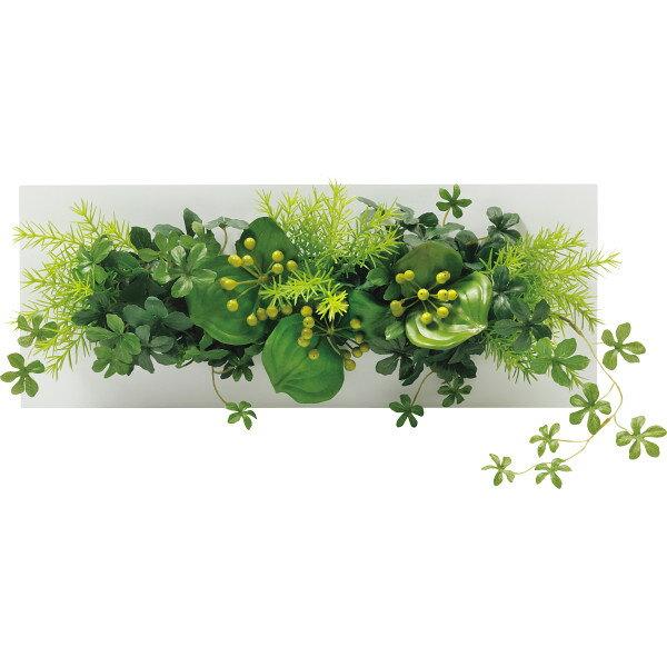 GREENPARK シュガーバイン×ミリオン/ウォールデコ(造花) 室内装飾品 花 グリ-ン ア-トアレンジ花 PRSY-0091(代引不可)