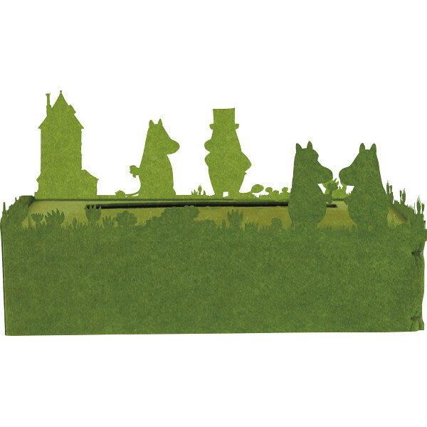 ティッシュケース ムーミン グリーン HA1141GR(代引不可)