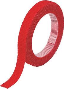 TRUSCO マジックバンド結束テープ 両面 幅40mmX長サ1.5m 赤 MKT4015R