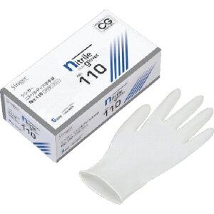 UCD ニトリルディスポNo.110白PFS (100枚入) NBR0550PFWBS
