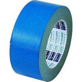 TRUSCO トラスコ カラークラフトテープ 幅50mmX長さ50m ブルー TKT50B