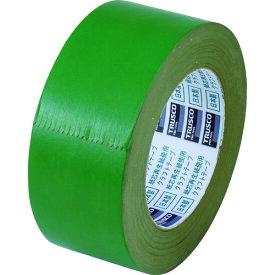 TRUSCO トラスコ カラークラフトテープ 幅50mmX長さ50m グリーン TKT50GN