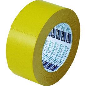 TRUSCO トラスコ カラークラフトテープ 幅50mmX長さ50m イエロー TKT50Y