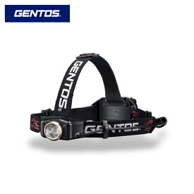 GENTOS ジェントス 充電式LEDヘッドライト 300lm GH-010RG