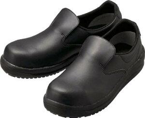 ミドリ安全 ワイド樹脂先芯入リ超耐滑軽量作業靴 ハイグリップ 25.5CM NHS600BK25.5