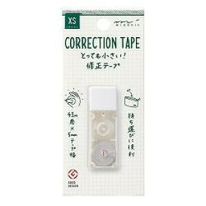 ミドリ XS 修正テープ 黒 35262006