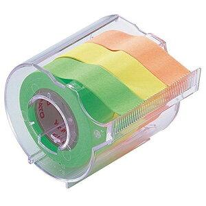 ヤマト 付箋 メモック ロールテープ カッター付き 15mm×10m RK-15CH-A