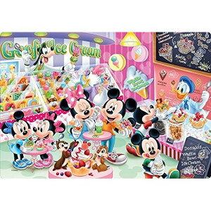 テンヨー 60ピース 子供向けパズル ディズニー アイスクリームショップでさがそう! 【チャイルドパズル】 DC-60-115
